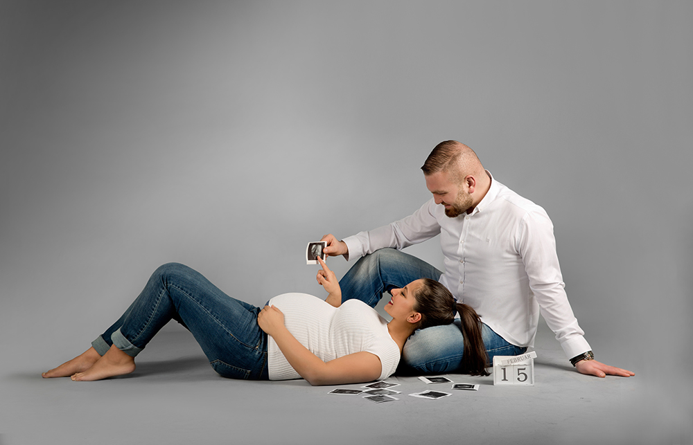 Fotos schwangerschaft mit partner 2